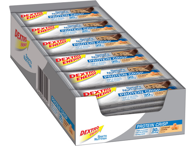Dextro Energy Caja Barritas Proteina 24x50g, Caramel-Cookies